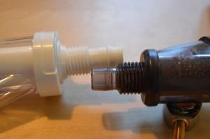 Schlauchverbindungsstück von JBL und Up-Aqua