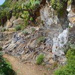 Gestein im Anaga-Gebirge