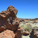 Steine um den Teide