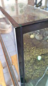 Floatglas Aquarium mit Querstrebe