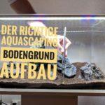 Aquascaping Bodengrund Aufbau