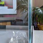 Blau Aquarium Aquascape Weissglas